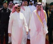 ملك البحرين يغادر جدة