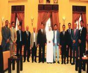 القائم بأعمال السفارة لدى تونس يستقبل وفد هيئة الصحفيين السعوديين