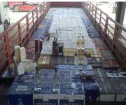 إحباط تهريب 35 ألف زجاجة خمر مخبأة داخل إرسالية معكرونة