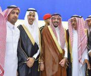 بحضور أمير القصيم.. الإعلامي سويلم العنزي يحتفل بزواجه*