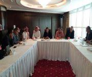 """"""" المانع """" يحضر ورشة عمل """" دليل المسافر المصري للعمل في السعودية والتي تنظمها السفارة المصرية ."""