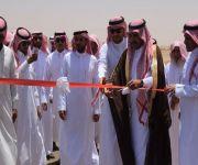 بحضور رئيس واعضاء بلدي رياض الخبراء رئيس مركز الذيبيه يفتتح مكتب الخدمات لمركز الذيبيه