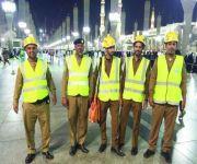 الدفاع المدني: تشكيل فرق للاستطلاع لمراقبة مناطق الزحام بالمسجد النبوي