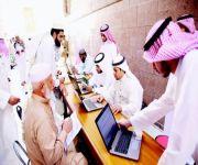 تخصيص أبواب للمعتكفين وصناديق لحفظ الأمتعة في المسجد النبوي
