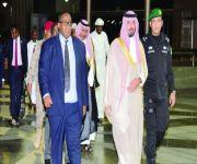 رئيس الوزراء الصومالي يصل إلى جدة