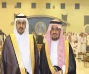 الشيخ عوض القبع يحتفل بزواج أبنائه سلمان ومقرن