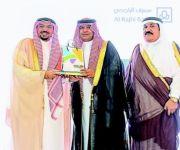 أمير القصيم يكرم مصرف الراجحي لرعايته مهرجان بريدة للترفيه والتسوق