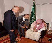 وزير الشؤون الإسلامية يجتمع مع مفتي بيهاجتش في سراييفو
