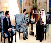أمير مكة يستقبل القنصل العام الهندي