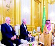 ولي العهد يبحث مع وفد أميركي التعاون الأمني في مجال مكافحة الإرهاب