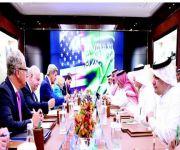 الأمير محمد بن نايف والأمير محمد بن سلمان يبحثان مع كيري العلاقات الثنائية ومستجدات المنطقة