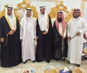 بالصور... الشيخ حسين الهزاع يحتفل بزواج نجليه بمدينة الرياض