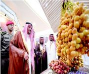 فيصل بن مشعل: «تمور بريدة» تحقق تطلعات 2030 في تعدد موارد الدولة