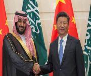 رئيس الصين يستقبل ولي ولي العهد