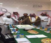 رئيس مركز الفوارة الشيخ ابن نحيت يفتتح مقر الجمعية التعاونية متعددة الاغراض