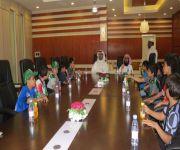 ضمن فعاليات اليوم الوطني بالمدرسة غرفة الرس تستقبل طلاب ابتدائية ابن القيم
