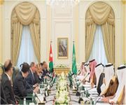 صدور بيان مشترك حول الاجتماع الأول لمجلس التنسيق السعودي الأردني