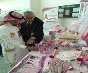 تفعيل ركن التوعية بسرطان الثدي في مركز صحي دخنة