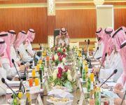 غرفة الرس  تستضيف  اجتماع المجلس المحلي بمحافظة الرس