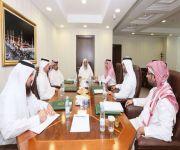 عُقد في مقر الشؤون الإسلامية بالرياض  ممثلون من وزارات الخارجية والمالية و المدنية ومعهد الإدارة يبحثون أوضاع القوى العاملة في ممثليات المملكة بالخارج
