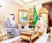 أمير منطقة القصيم يستقبل مدير مكتب وكالة الأنباء السعودية بالمنطقة