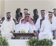 خادم الحرمين يشرف حفل مهرجان زايد التراثي