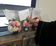 """بدعوة من مؤسسة أريس الوقفية فتيات دار التربية الاجتماعية يشاركن في ورشة """"أسرار منسقي الزهور"""""""