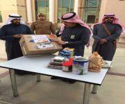 أكثر من 300 أسرة أستفادت من حملة أهالي الرس الخيرية  المتمثلة بصدقة لشهداء الواجب