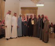المجلس البلدي لبلدية رياض الخبراء يشارك في إفتتاح مكتب خدمات بلدية في القرين