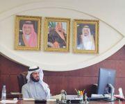 رئيس بلدية الاسياح الجديد الحواس يباشر عمله