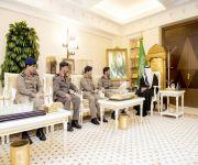 أمير منطقة القصيم يقلد اللواء المجماج واللواء العضيب الرتب الجديدة