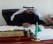 العنزي مدير إدارة الأراضي والتخطيط العمراني ببلدية الاسياح الى العاشرة