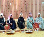 مدير عام صحة حفر الباطن في ضيافة نائب رئيس بلدي الاسياح