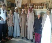 تأهيل البكيرية يزور متحف العبري