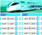 من الرياض إلى القصيم.. القطار يتأهب للانطلاق في أولى رحلاته.. الأحد