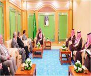 ولي العهد يبحث مع وزير الداخلية العراقي جهود مكافحة الإرهاب