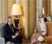 الجبير يلتقي وزير الخارجية البلجيكي ومنسق الاتحاد الأوروبي لمكافحة الإرهاب