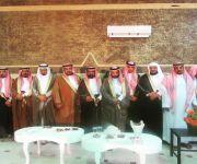 د / محمد بن عايد بن شقاماء المظيبري يحتفل بزواج نجله الملازم ( عايد)