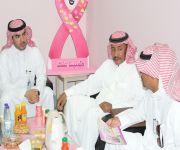 منسوبي البرنامج المبكر لفحص سرطان الثدي بالقصيم يتفقد مستشفى الرس