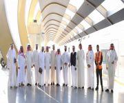وفد من رجال أعمال مكة يزور محطة الركاب بالقصيم