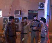 الجهات الأمنية في محافظة عيون الجواء تنفذ حملة امنية