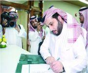 34 صوتاً يزكون آل الشيخ رئيساً للأولمبية السعودية