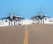 الطائرات السعودية تصل إلى قاعدة الظفرة الجوية