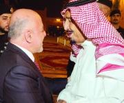 خادم الحرمين يحتفي برئيس الوزراء العراقي