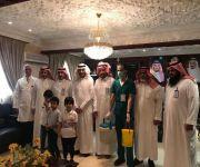  محافظ عيون الجواء يدشن حملة التطعيم ضد الحصبة للطلاب والطالبات بمدارس القطاع