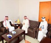 فيما استقبله محافظ النبهانية:  زيارة استشاري طب الأطفال د. سعد العزام لمستشفى النبهانية العام