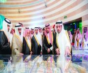 أمير القصيم يدشن المرحلة الأولى من مشروع صحار «فلل البساتين السكني» بمدينة بريدة
