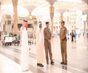 تطوير حركة الحشود بالمسجد النبوي