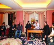 آل الشيخ يحفز نجوم الهلال والرئيس يثمن دعمه