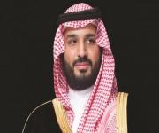 ولي العهد يوجه بزيادة مراكز لوني الشقح والحمر بمهرجان الملك عبدالعزيز للإبل
